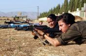 syria-kurdish-women-training-gun-afp